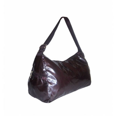 Daphne Shoulder Bag - Aubergine Shimmer