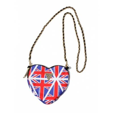 Heart Pouch - Union Jack