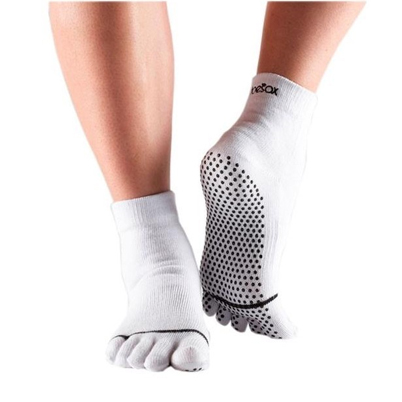 Full Toe Ankle Grip - white