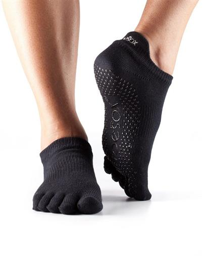 Half Toe Low Rise Grip - black