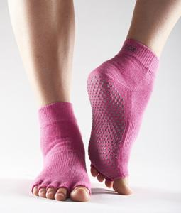 Half Toe Ankle Grip - hot pink