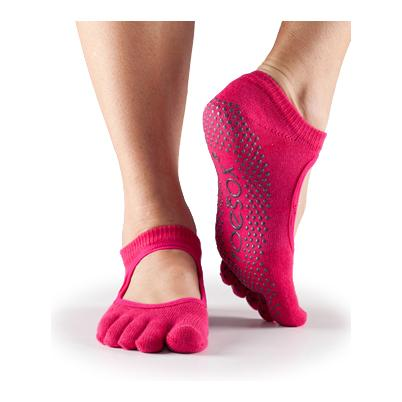 Full Toe Bella grip - fuchsia
