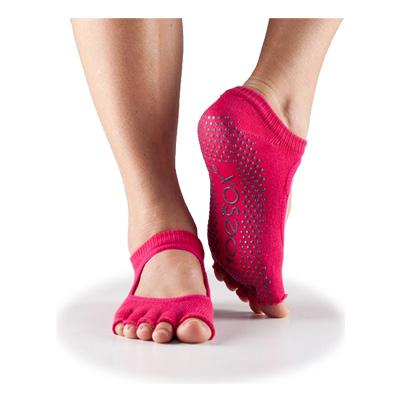 Half Toe Bella Grip - fuchsia