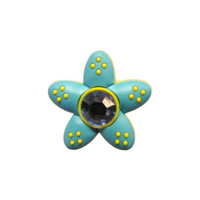 Jibbitz™ - Star Dot Flower Green